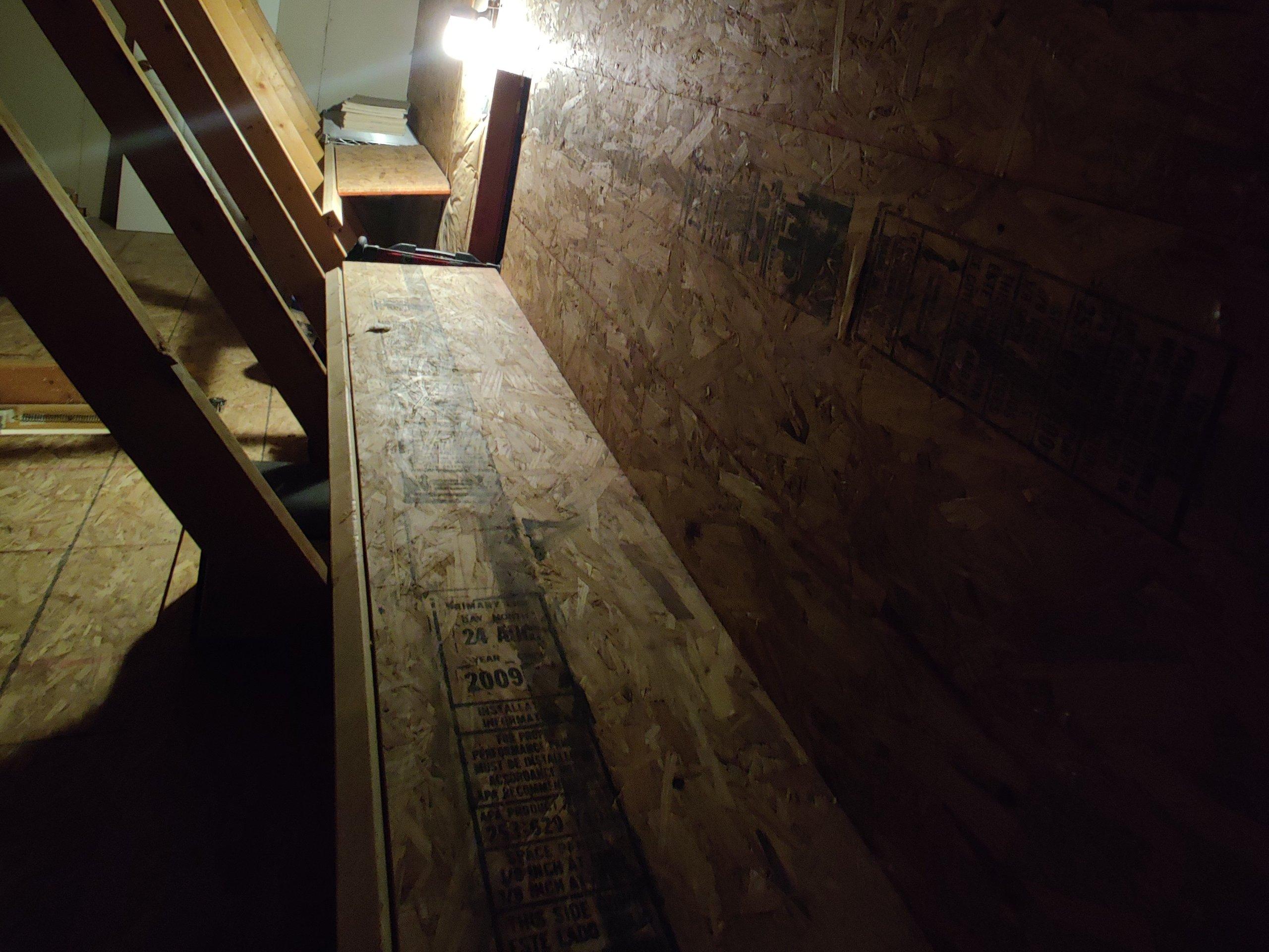 20x10 Attic self storage unit