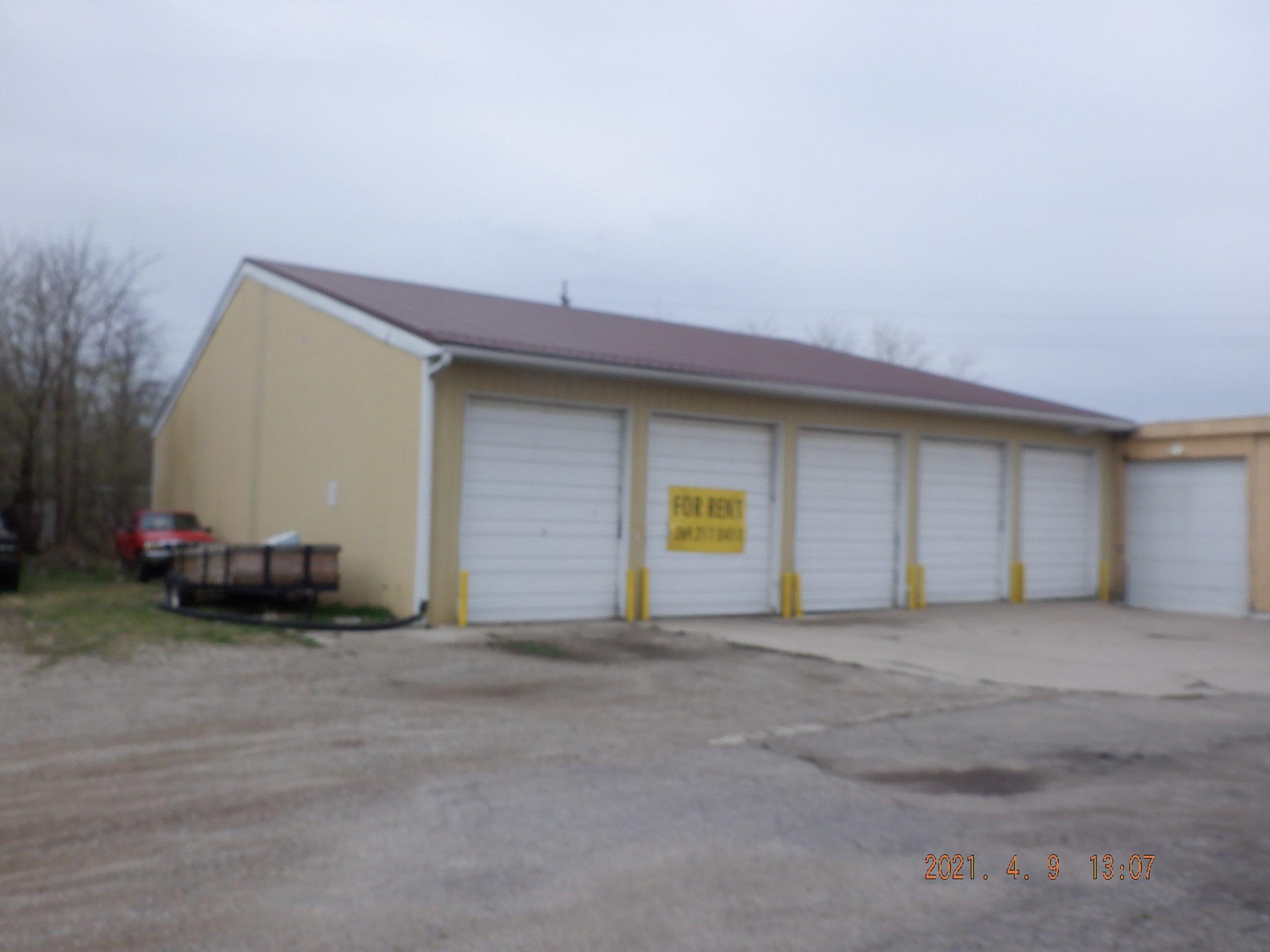 12x80 Warehouse self storage unit