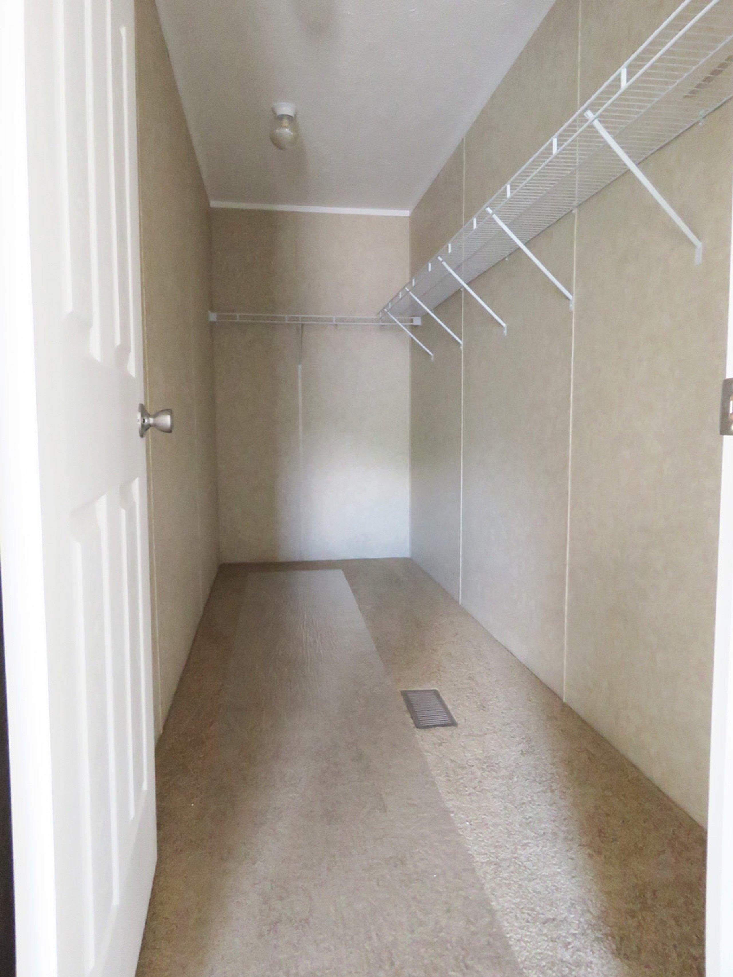 6x2 Closet self storage unit