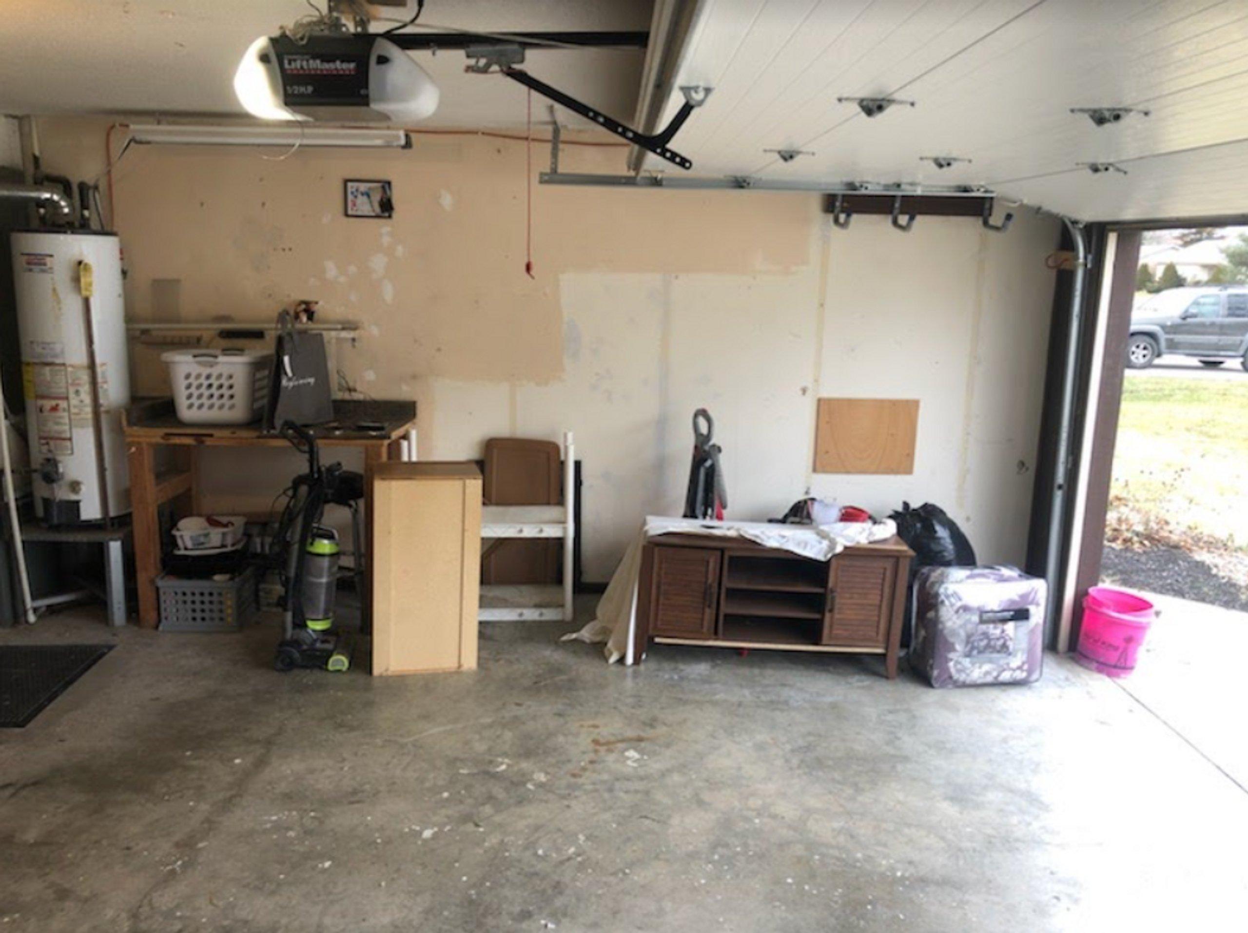 13x19 Garage self storage unit