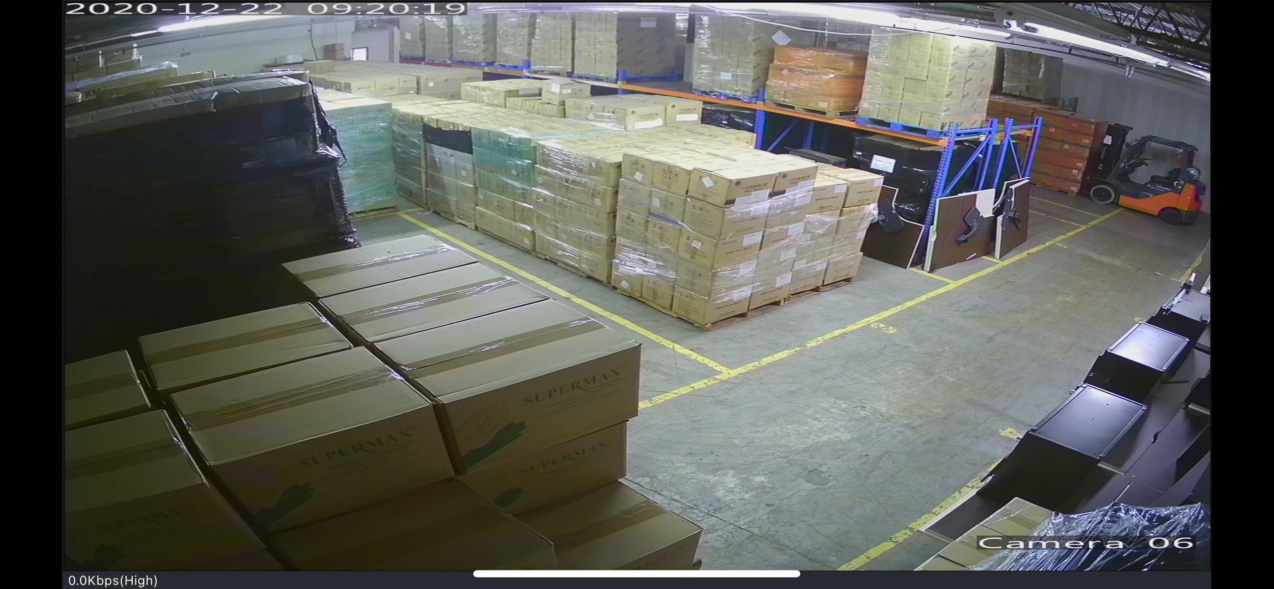 60x70 Warehouse self storage unit