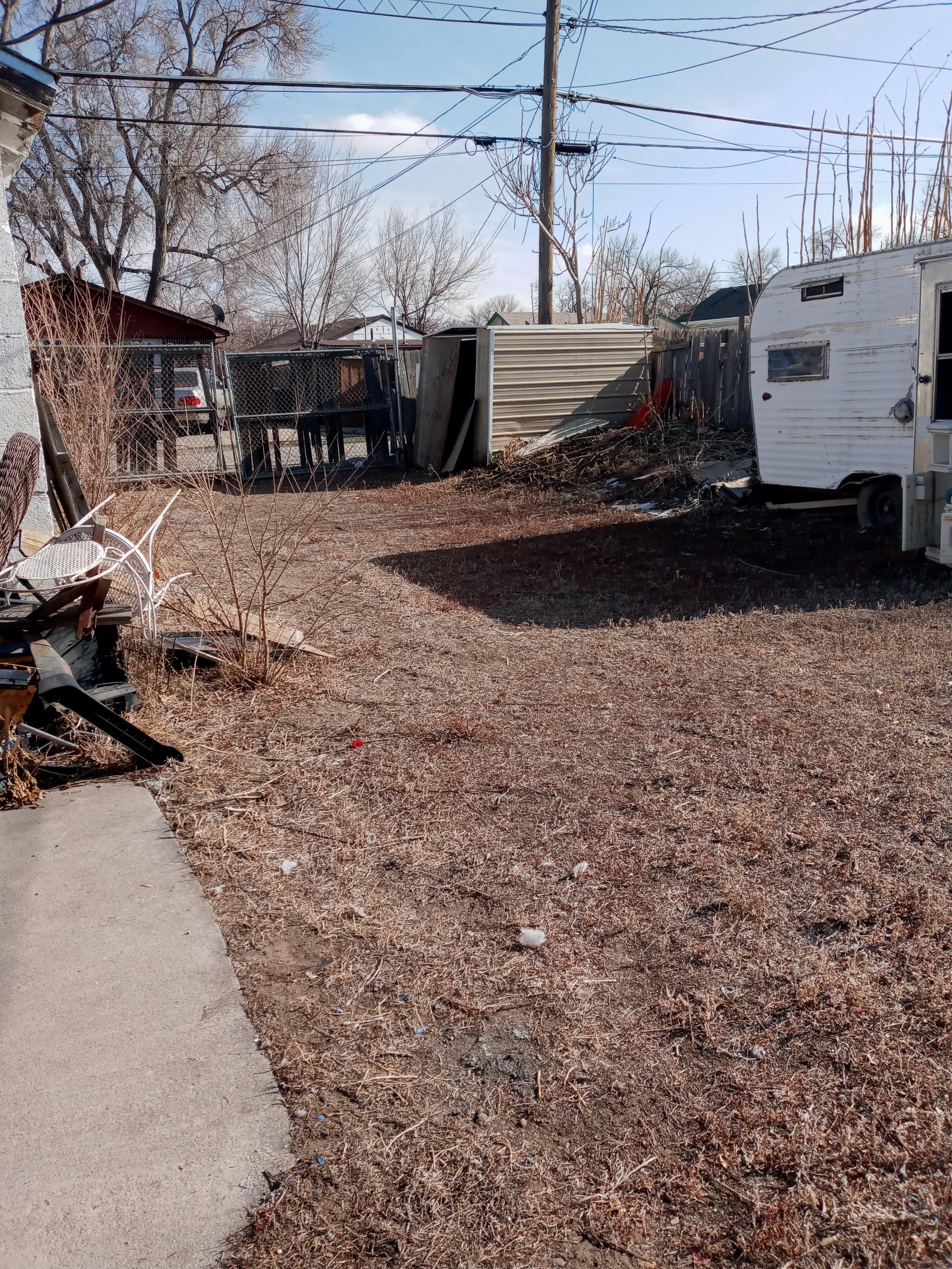 24x13 Unpaved Lot self storage unit