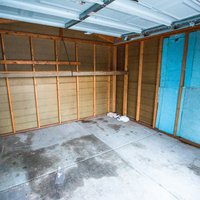 12x11 Garage self storage unit