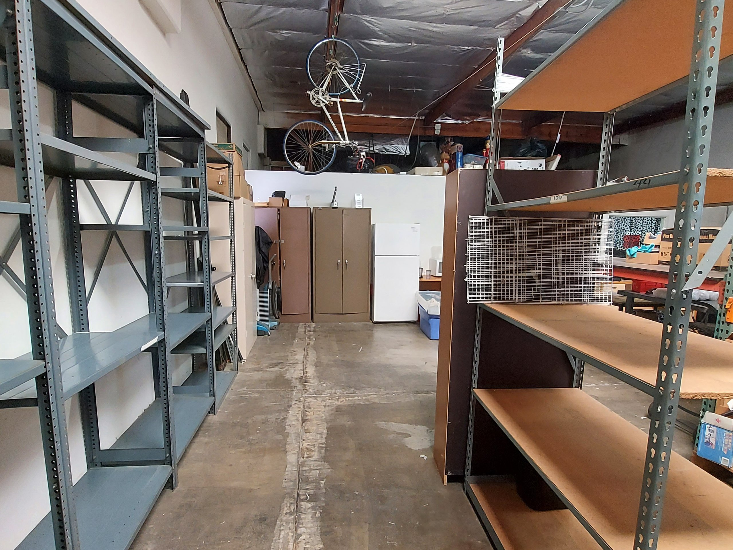 25x20 Warehouse self storage unit