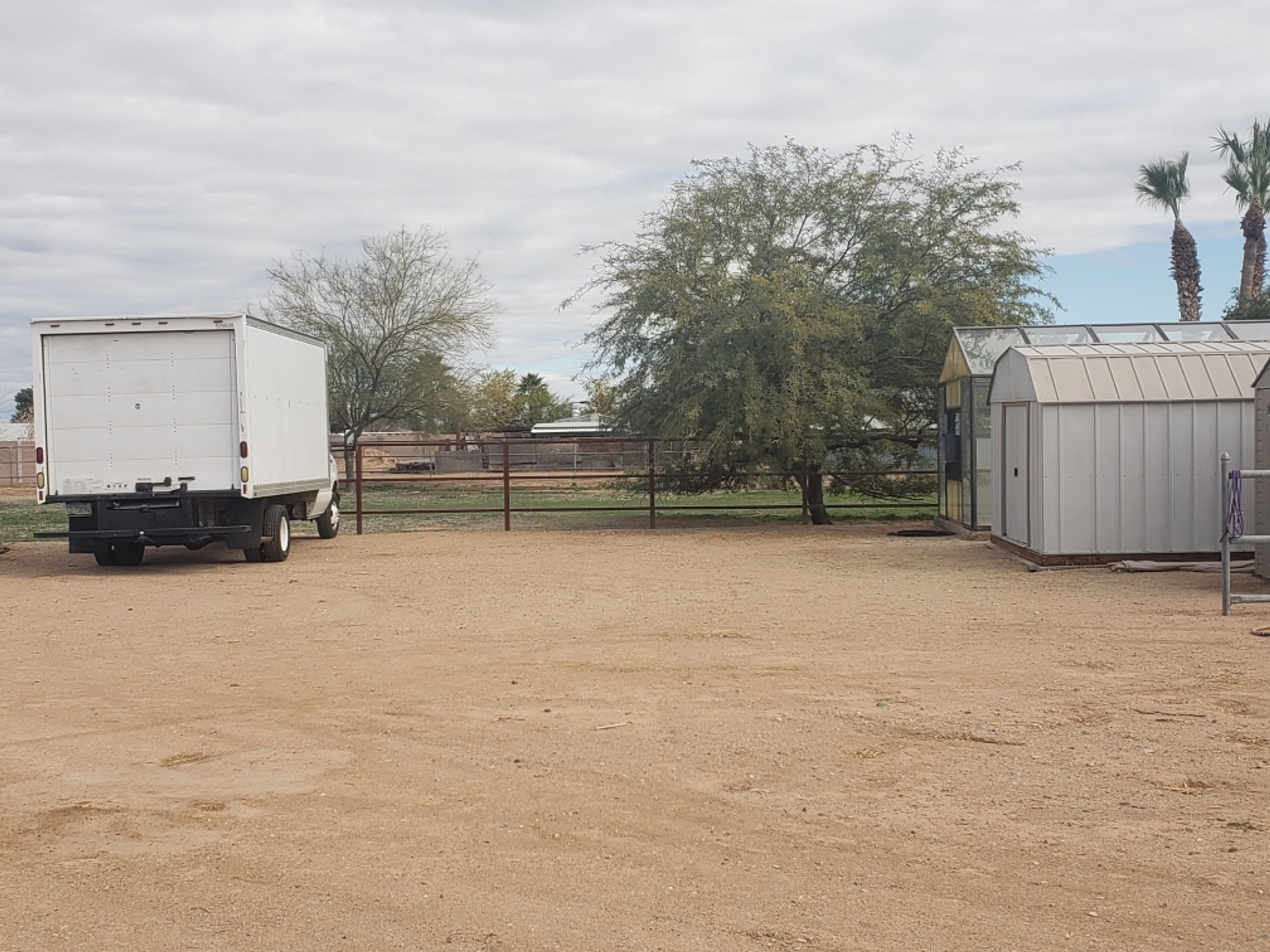 20x10 Unpaved Lot self storage unit