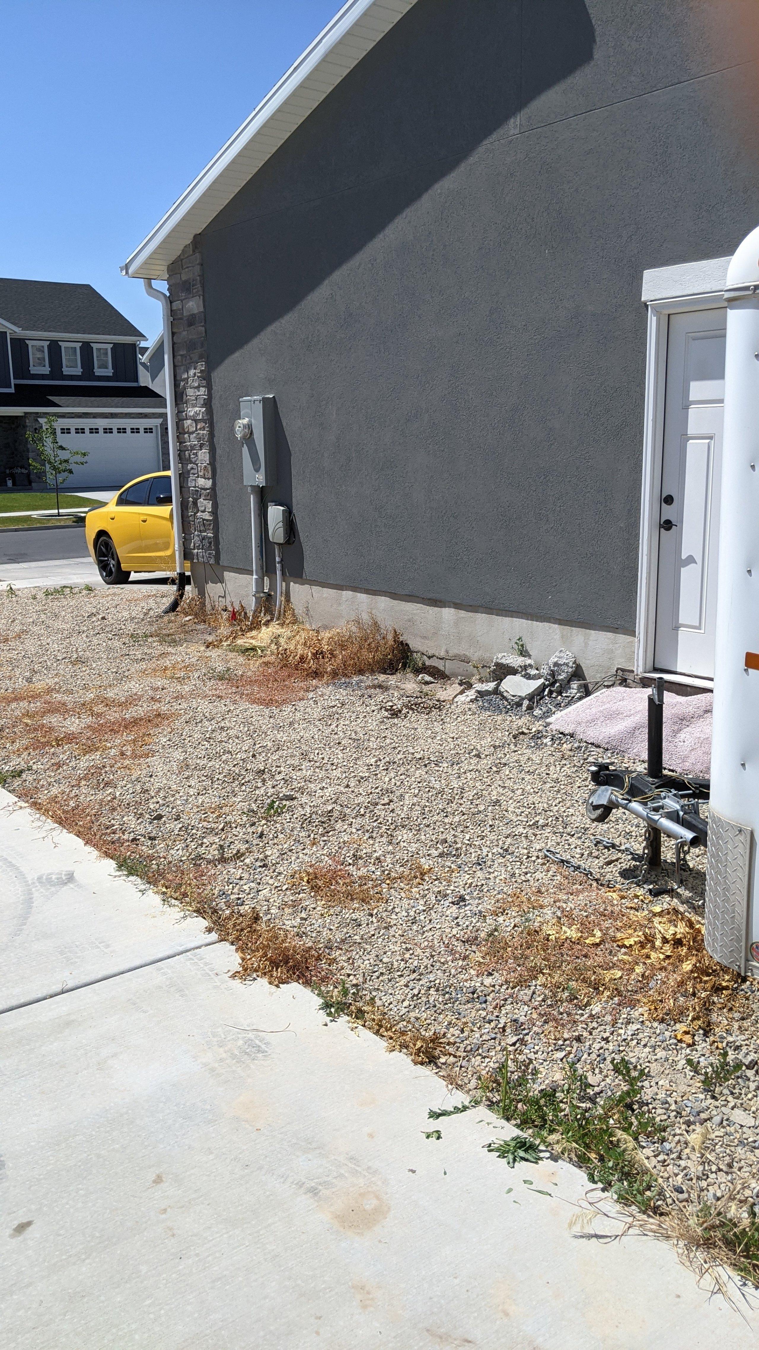 35x11 Driveway self storage unit