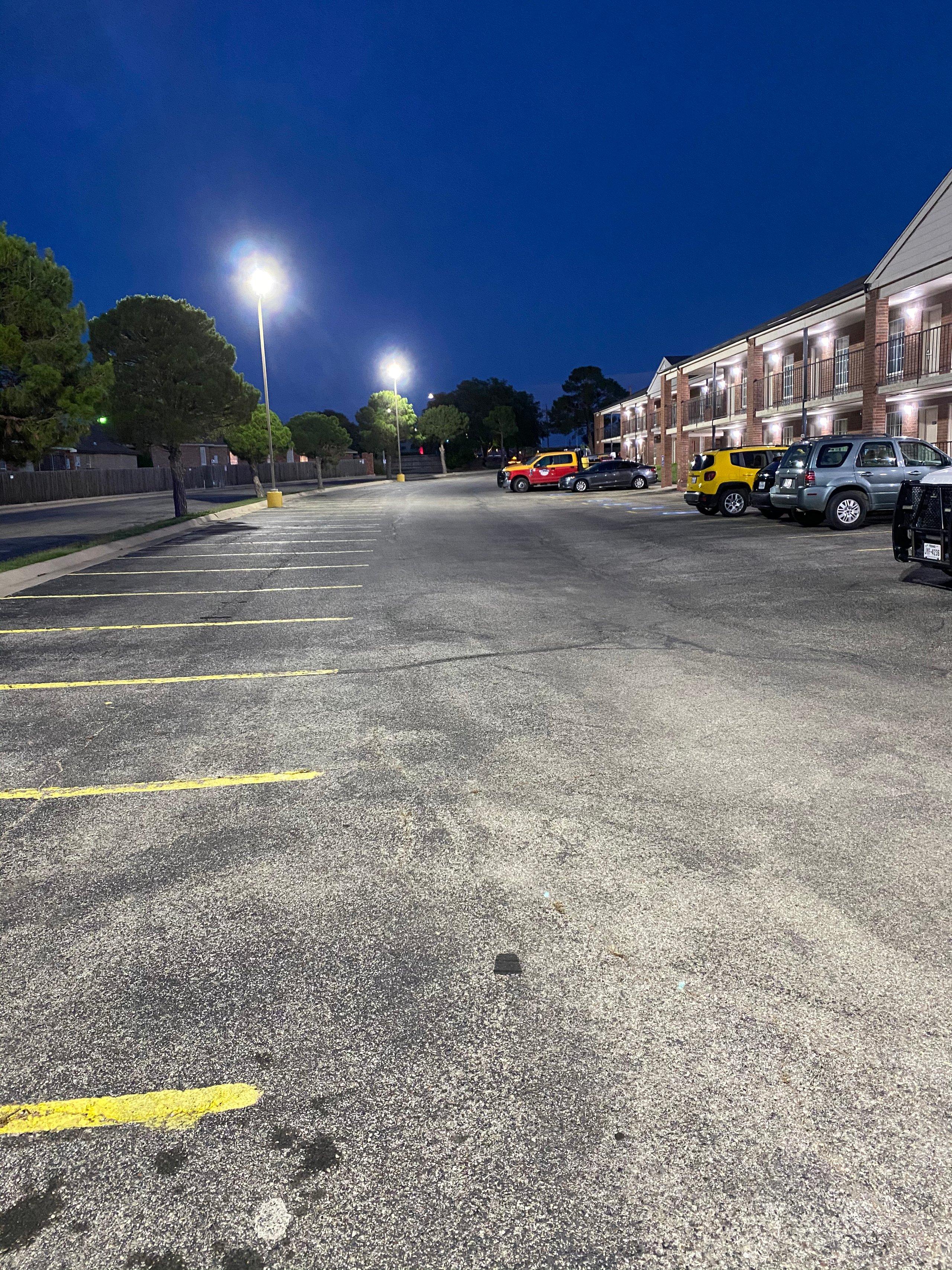 12x6 Parking Lot self storage unit