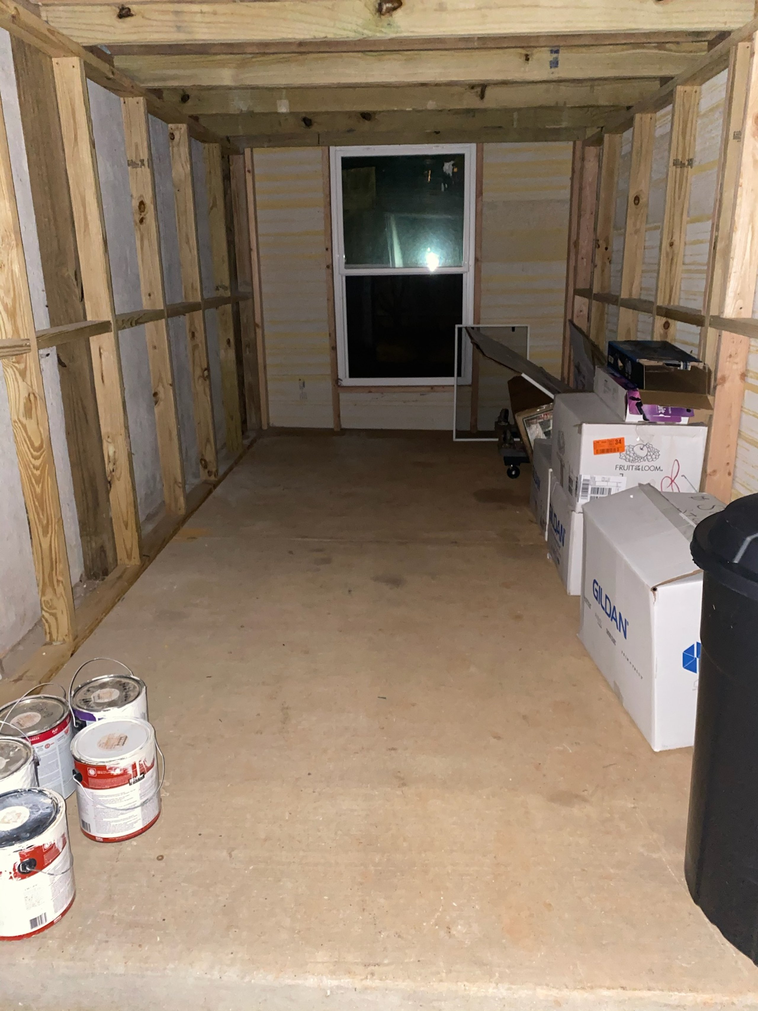 12x6 Bedroom self storage unit