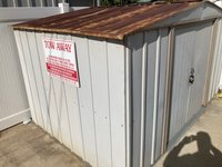 6x9 Shed self storage unit