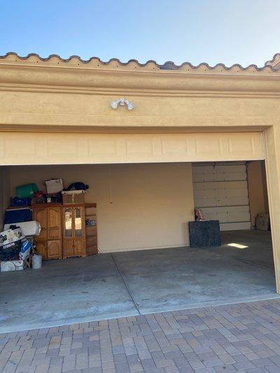 50x22 Garage self storage unit