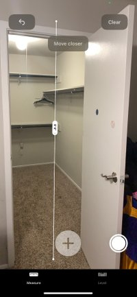4x7 Closet self storage unit