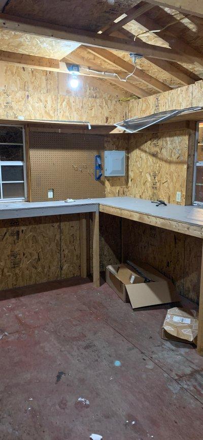 11x9 Garage self storage unit