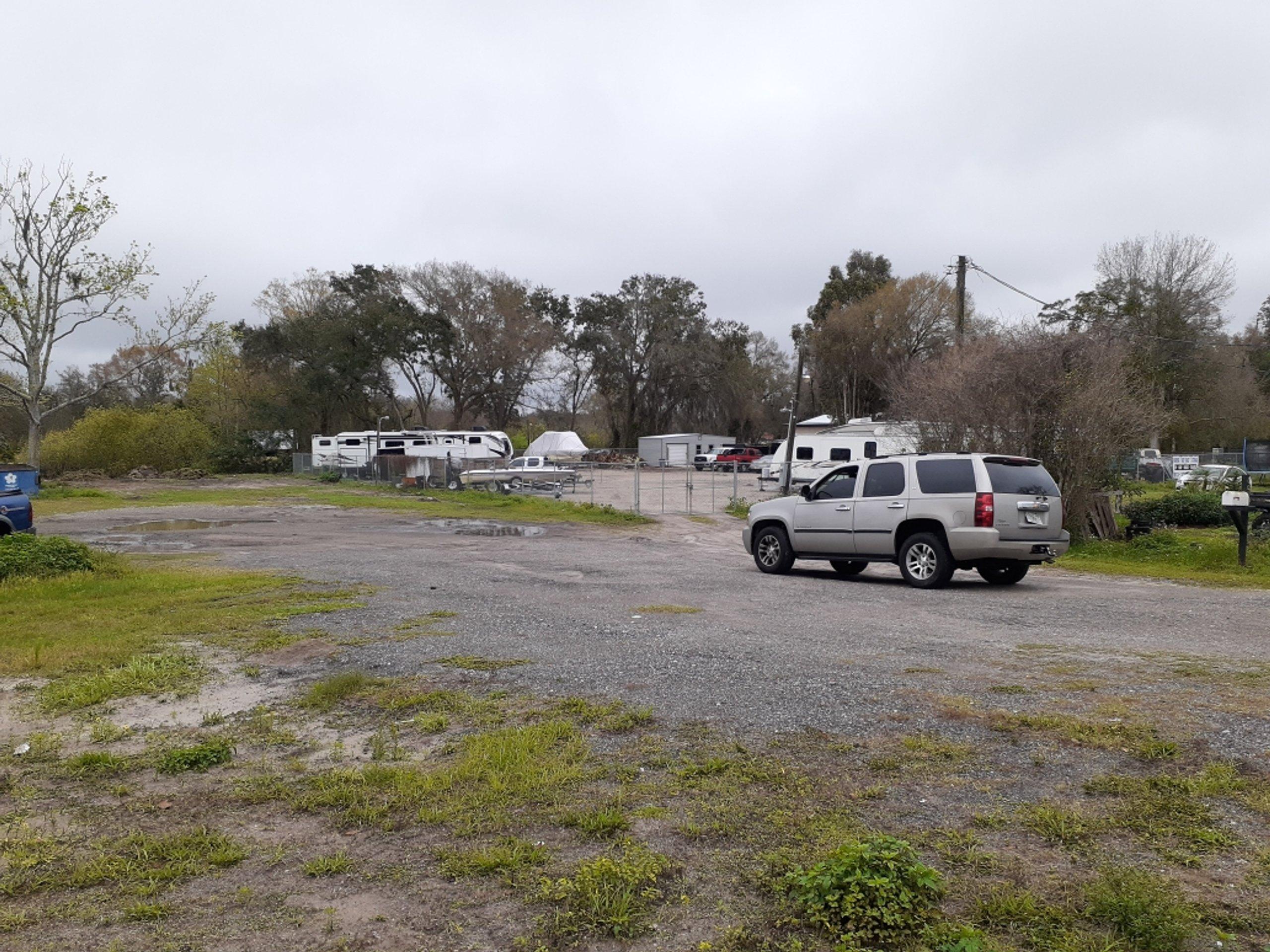 30x10 Parking Lot self storage unit