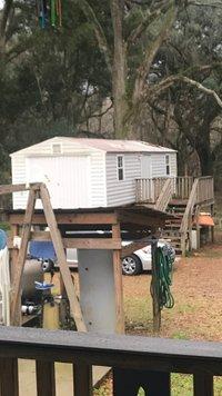 15x12 Shed self storage unit