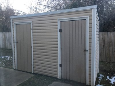 5x10 Shed self storage unit