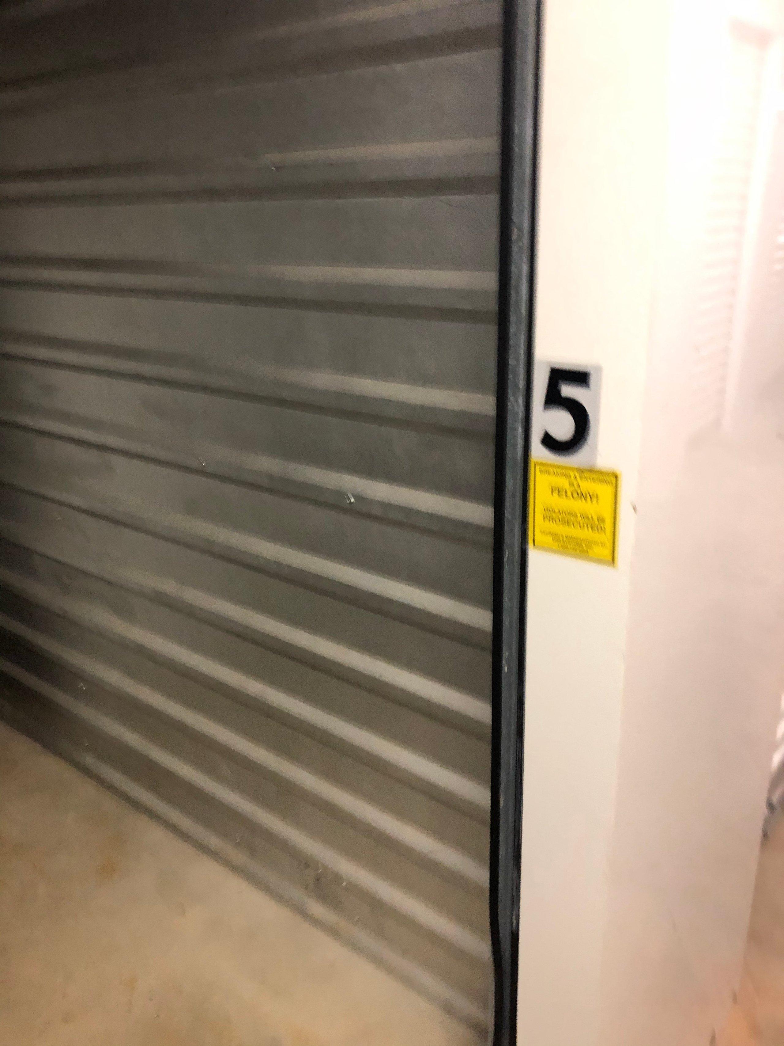 40x80 Unpaved Lot self storage unit