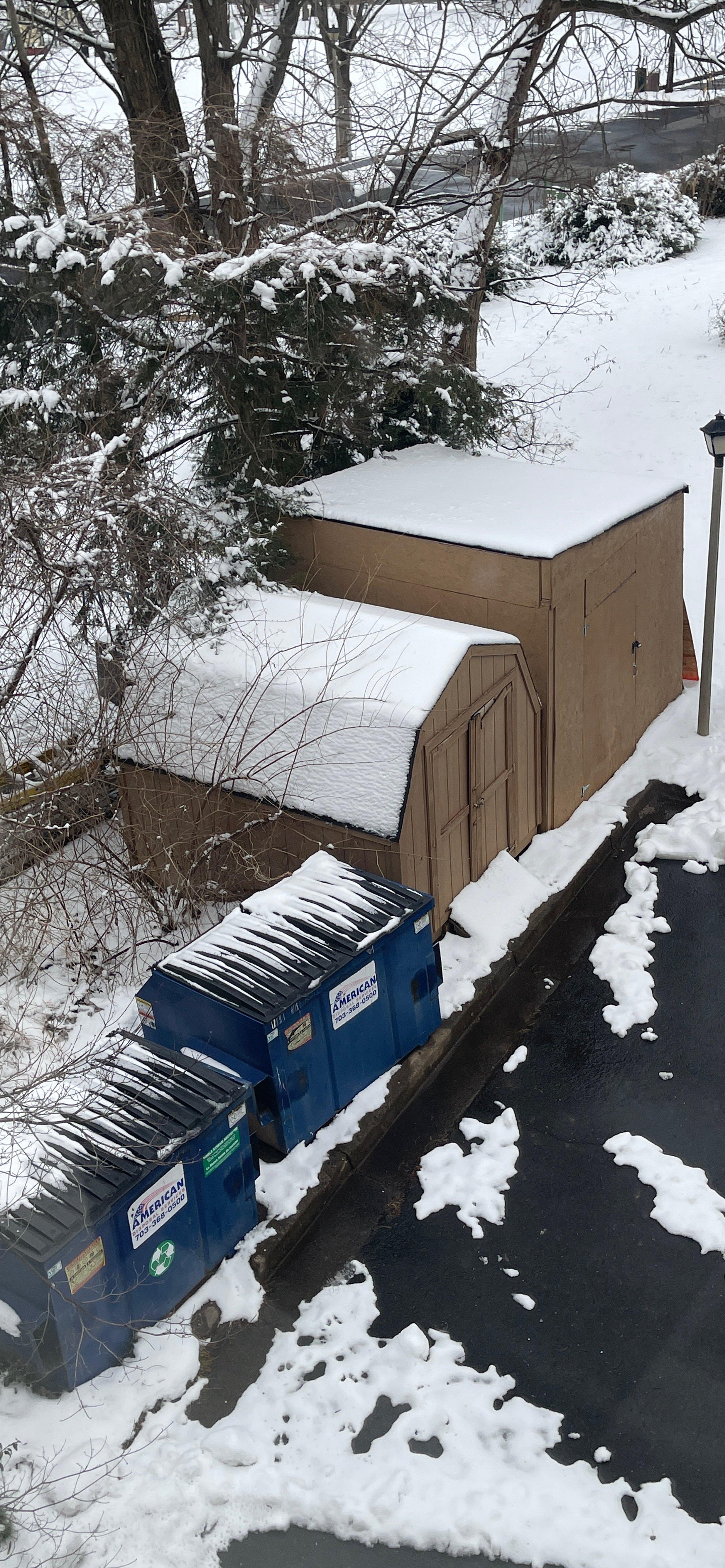 12x12 Parking Lot self storage unit