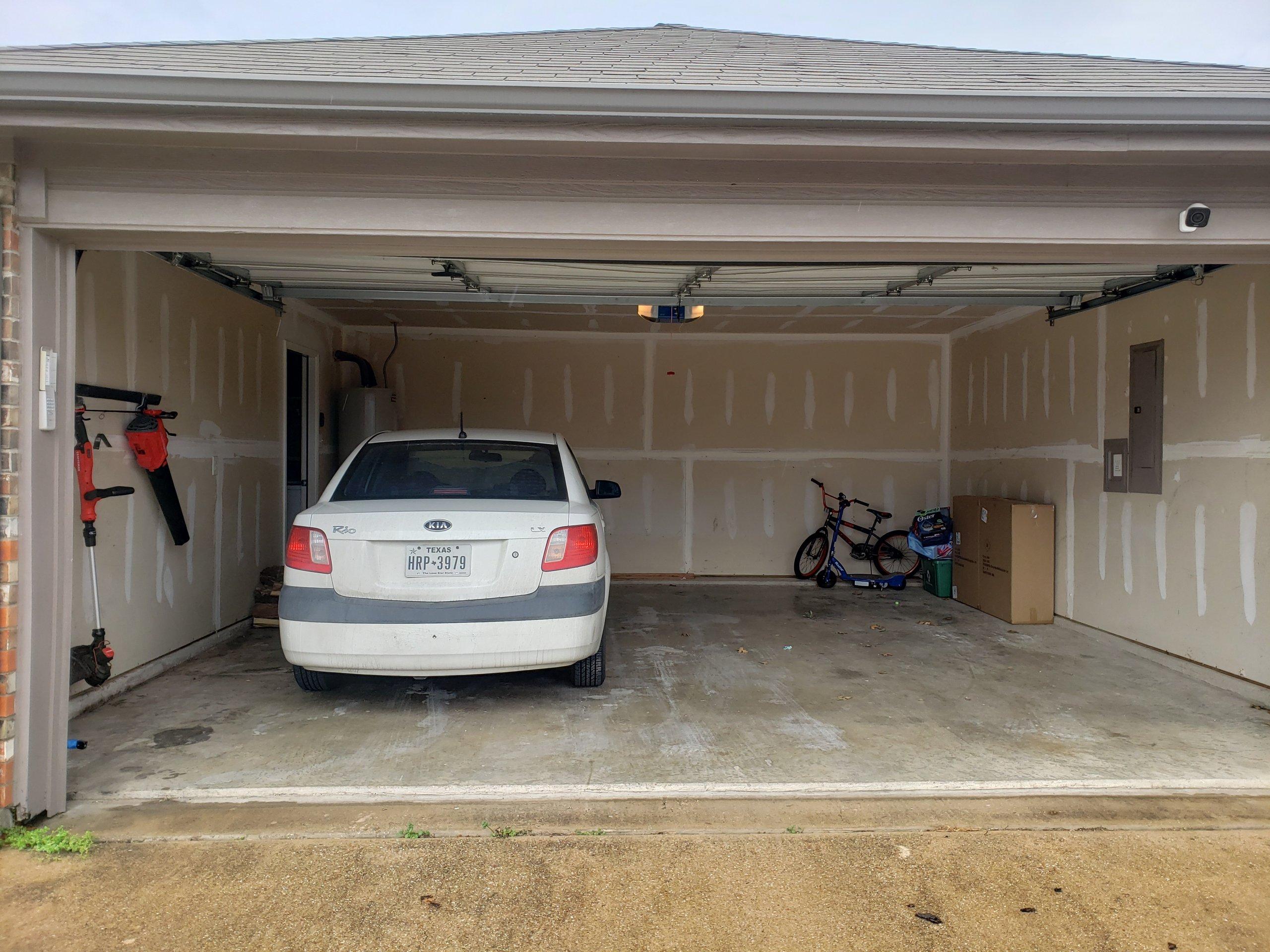 18x20 Garage self storage unit