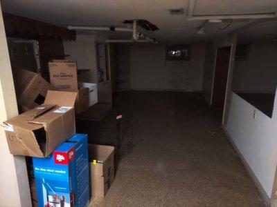 16x8 Basement self storage unit
