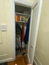 5x5 Closet self storage unit