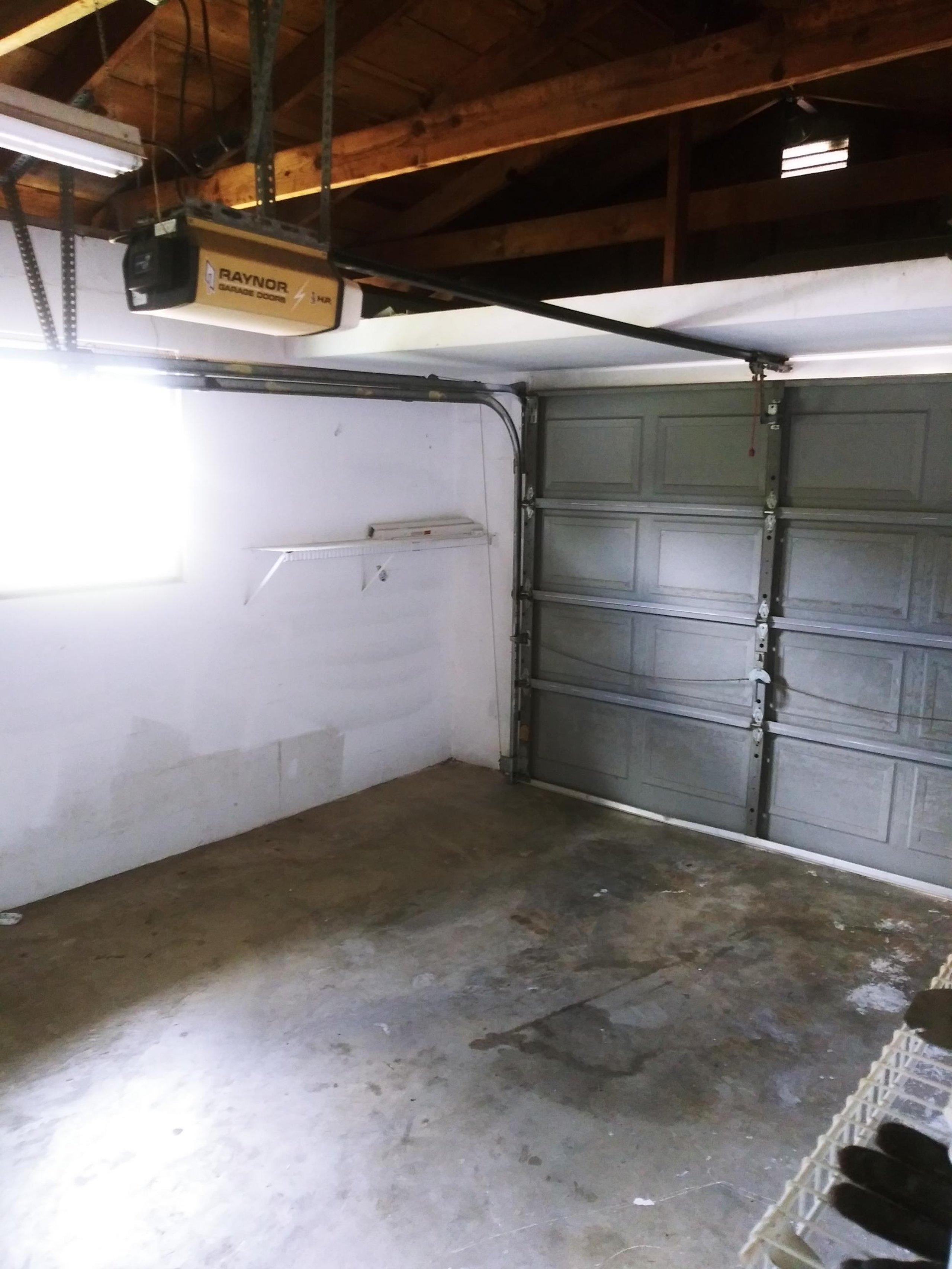 25x12 Garage self storage unit