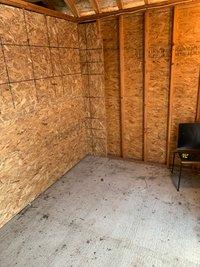 8x12 Shed self storage unit