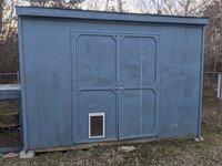 11x7 Shed self storage unit