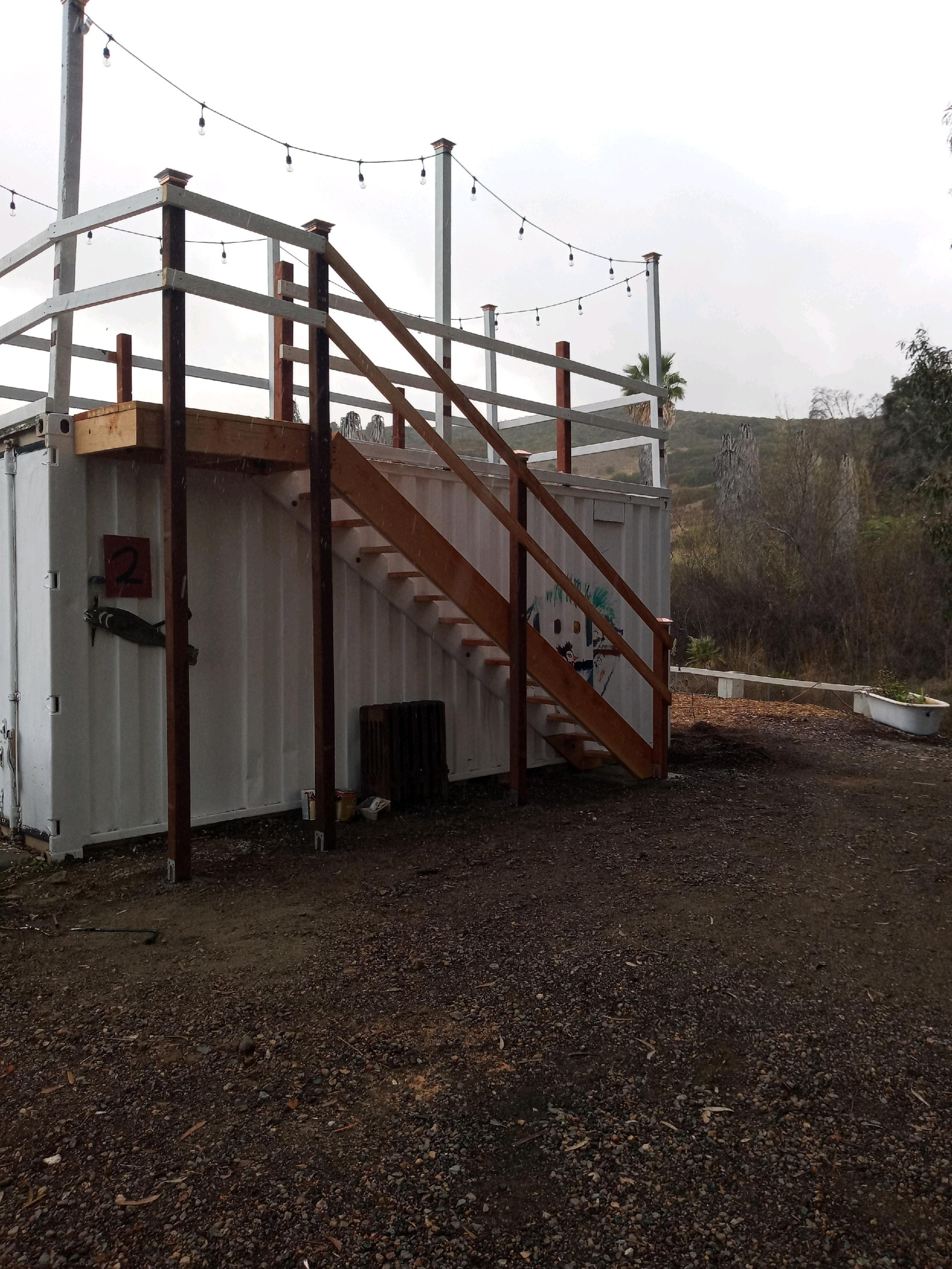 19x7 Shipping Container self storage unit