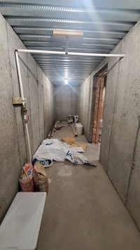 20x5 Basement self storage unit