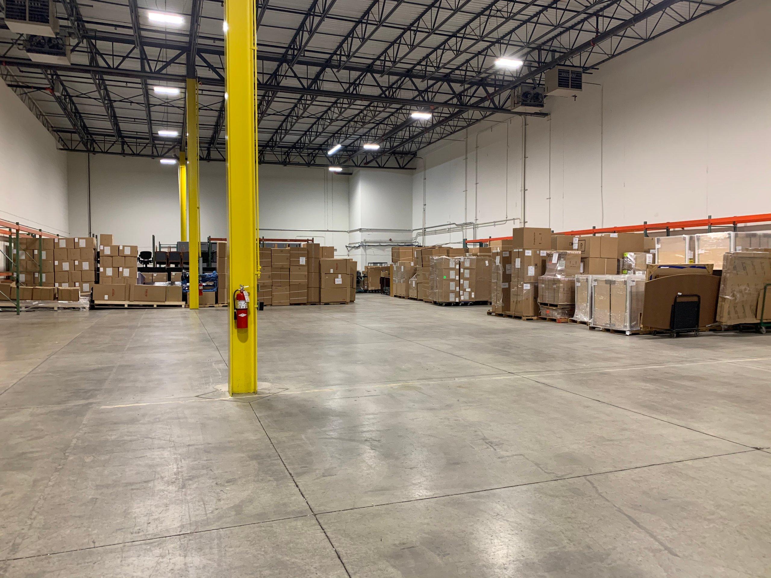 50x30 Warehouse self storage unit