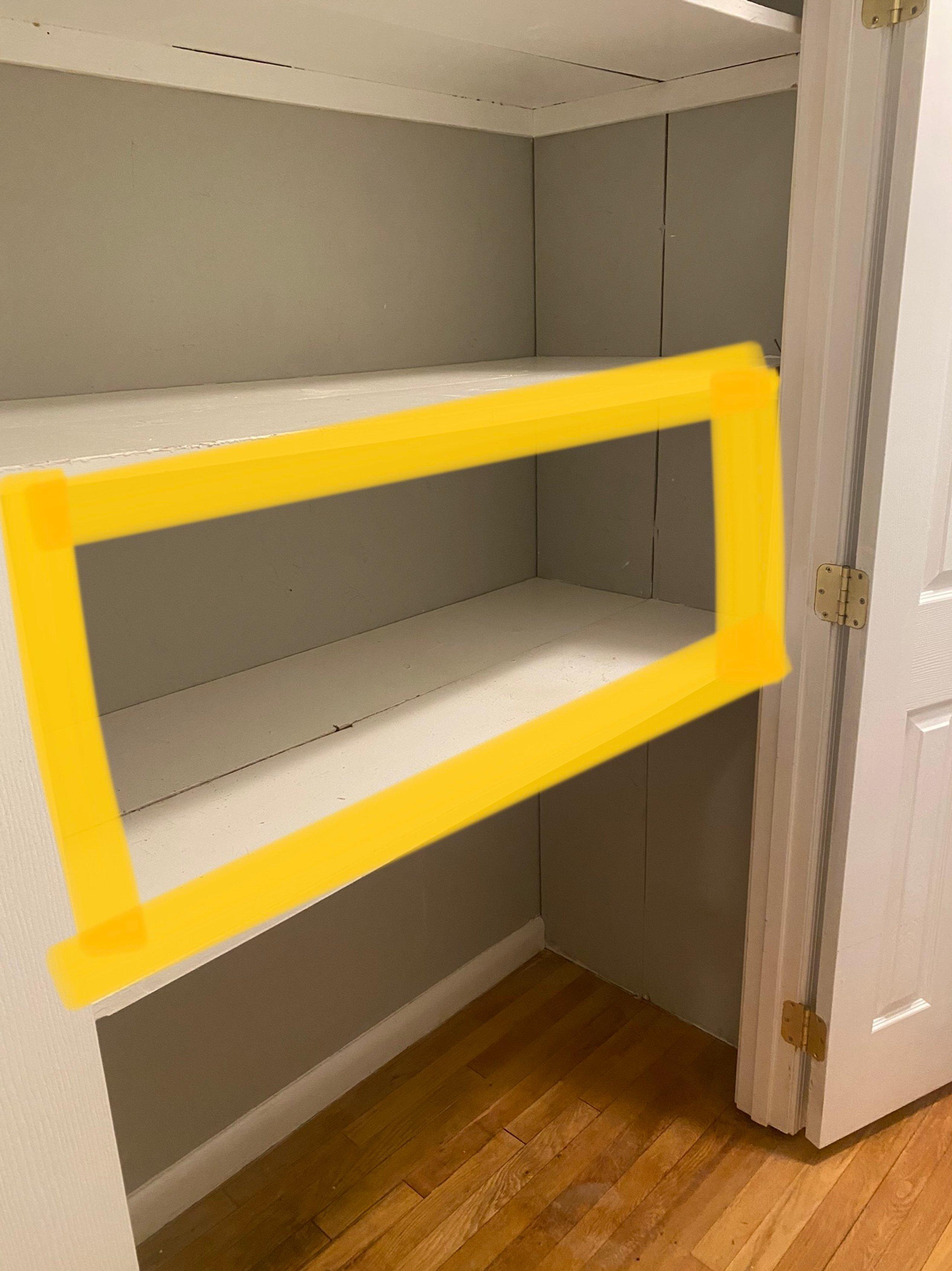 4x2 Closet self storage unit
