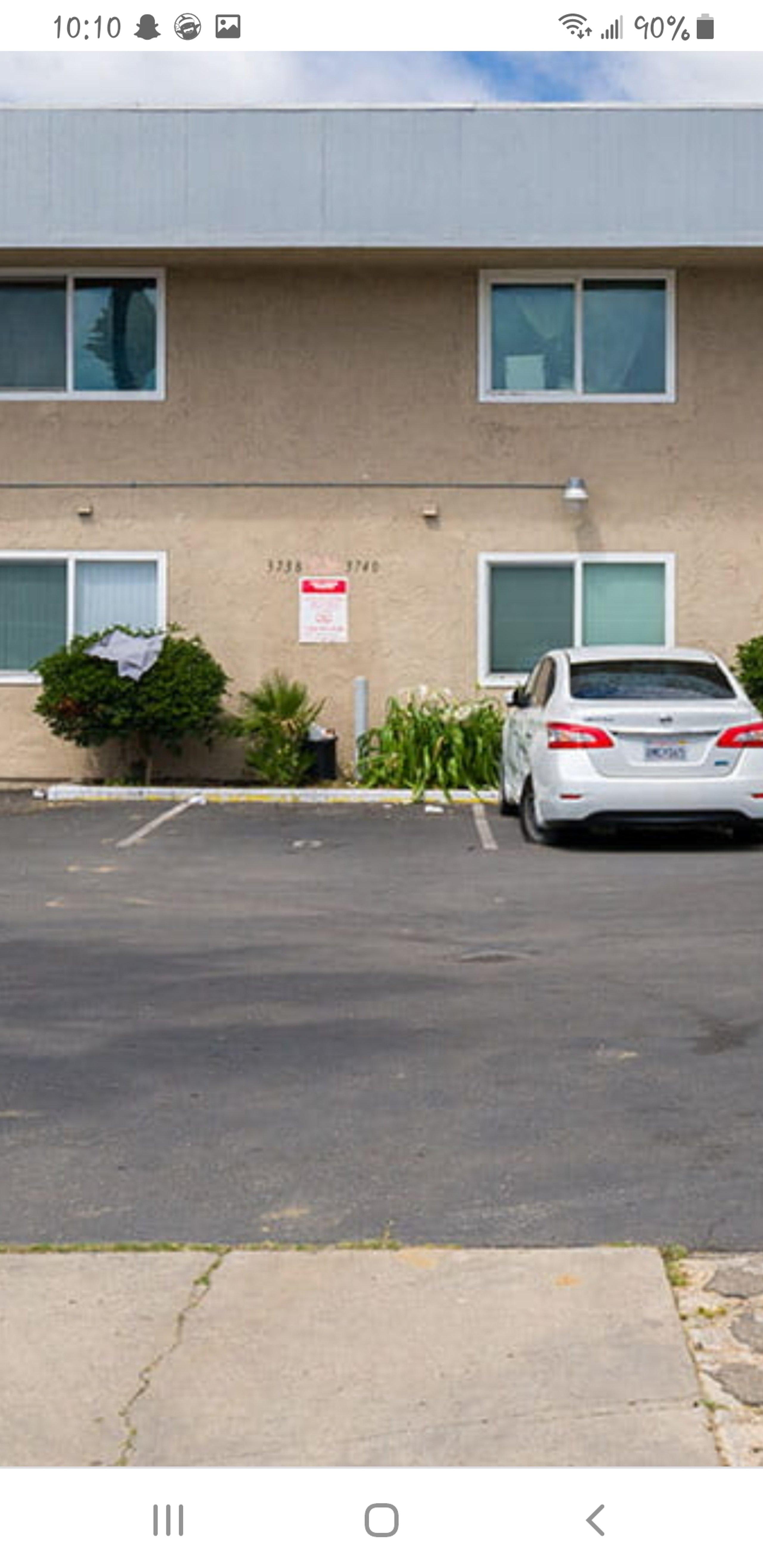 54x60 Parking Lot self storage unit