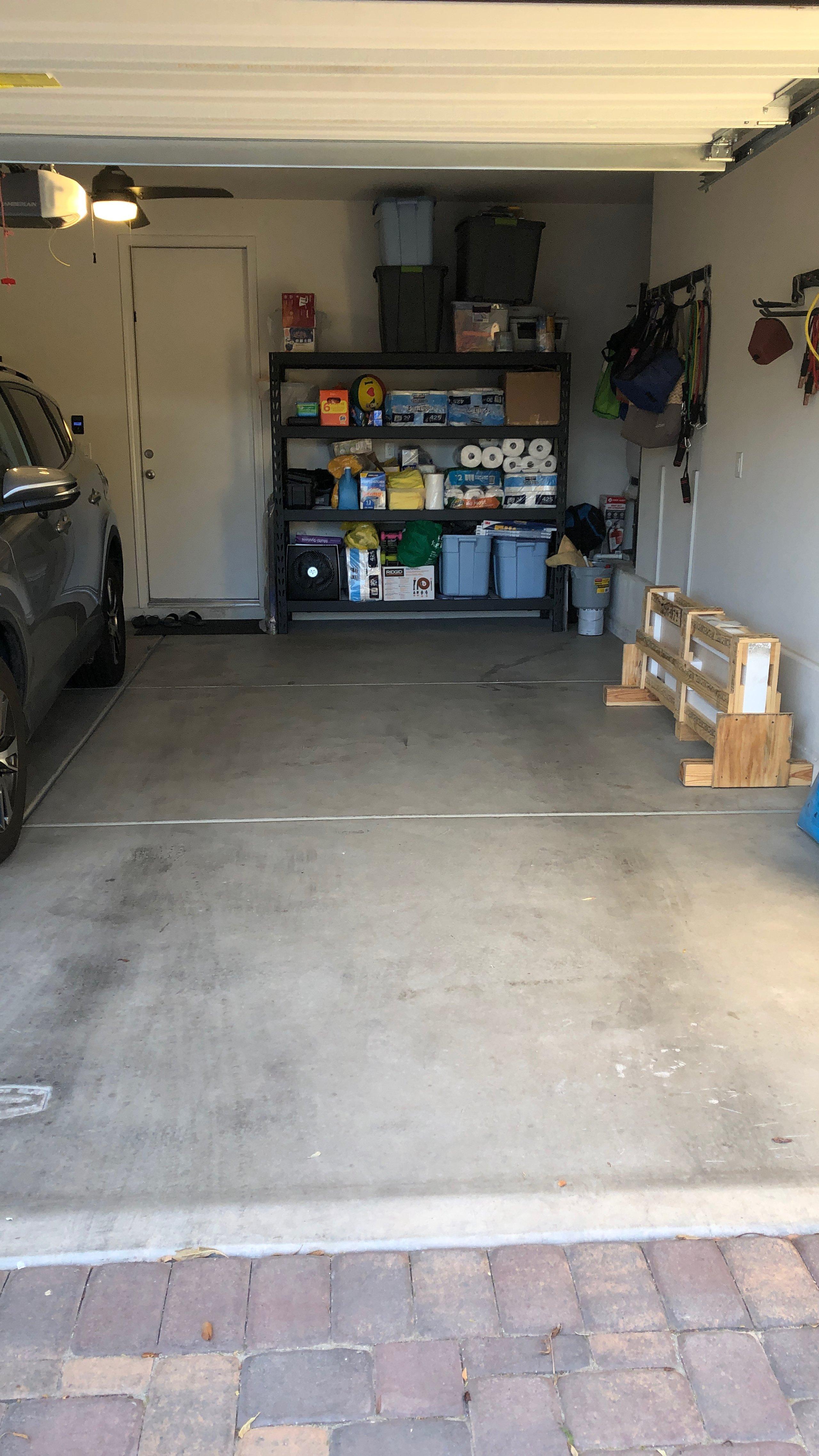 7x17 Garage self storage unit