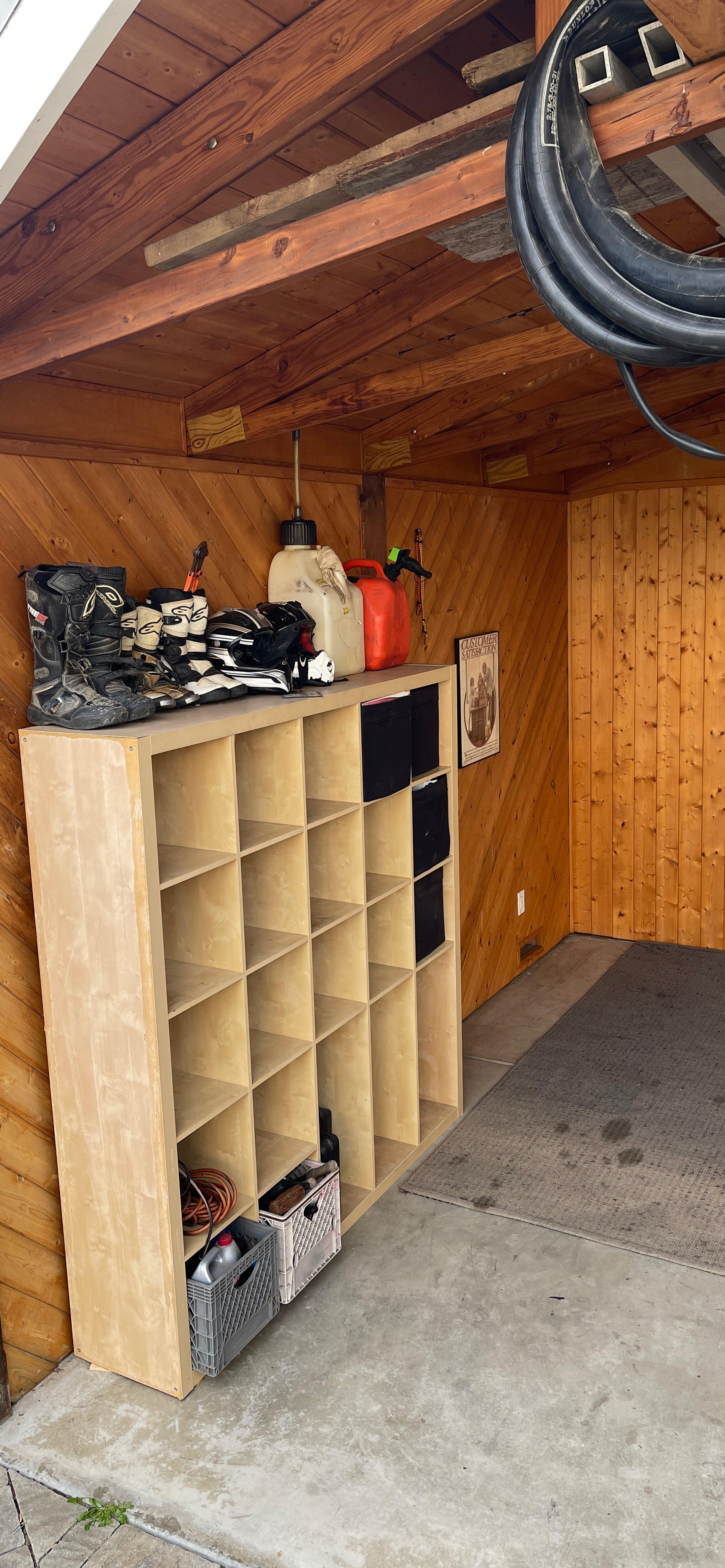 22x25 Shed self storage unit