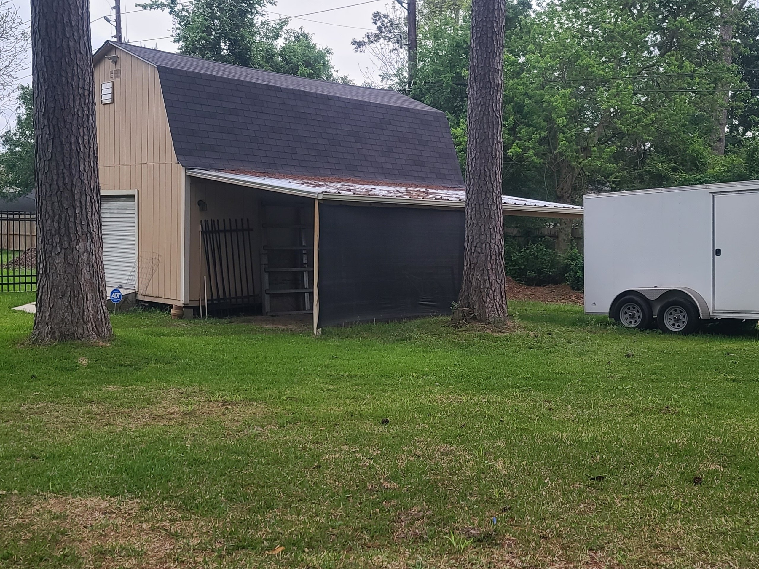 24x12 Carport self storage unit