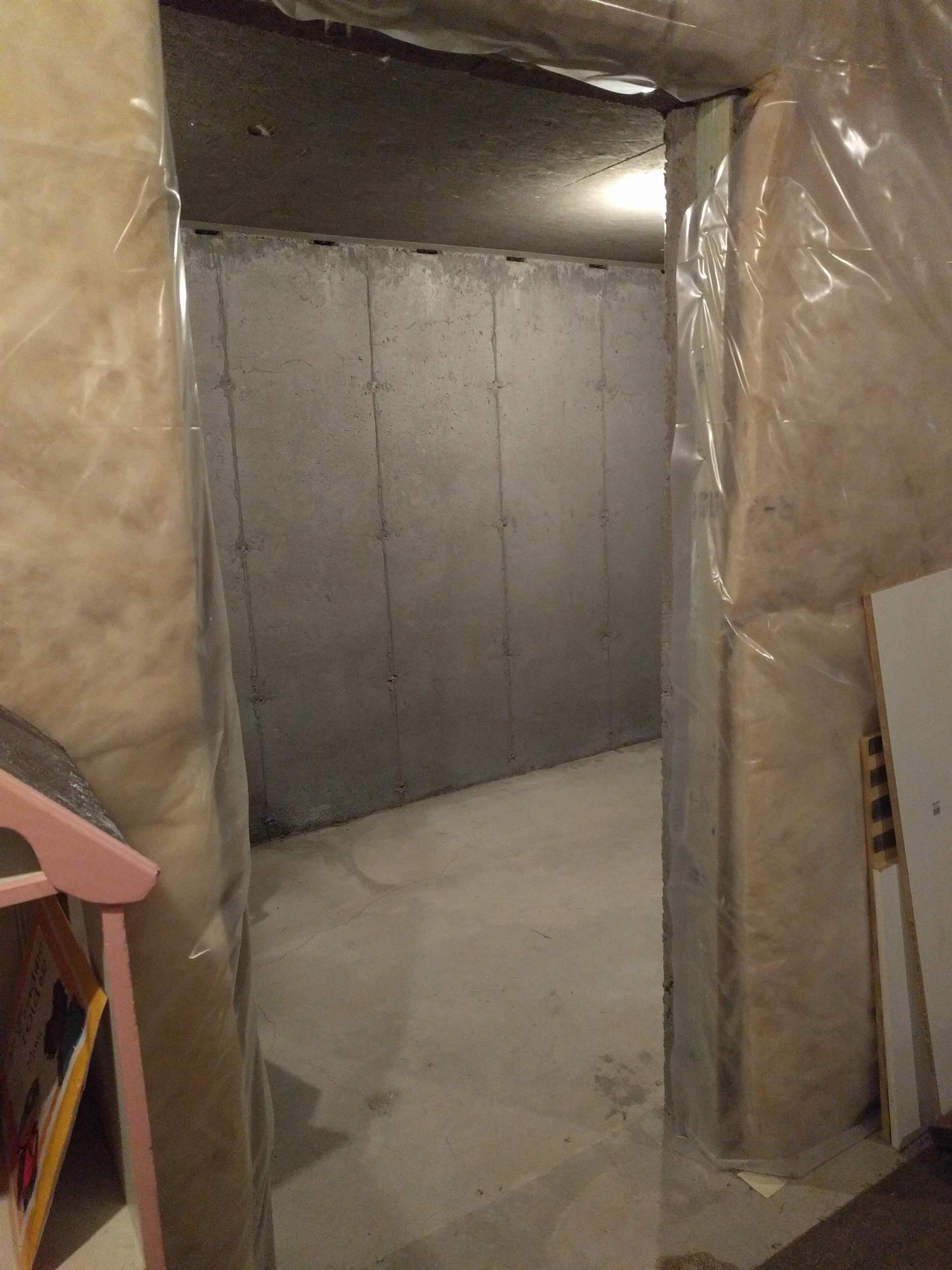 7x6 Basement self storage unit