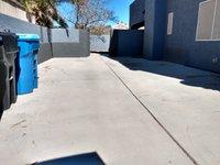35x10 Driveway self storage unit