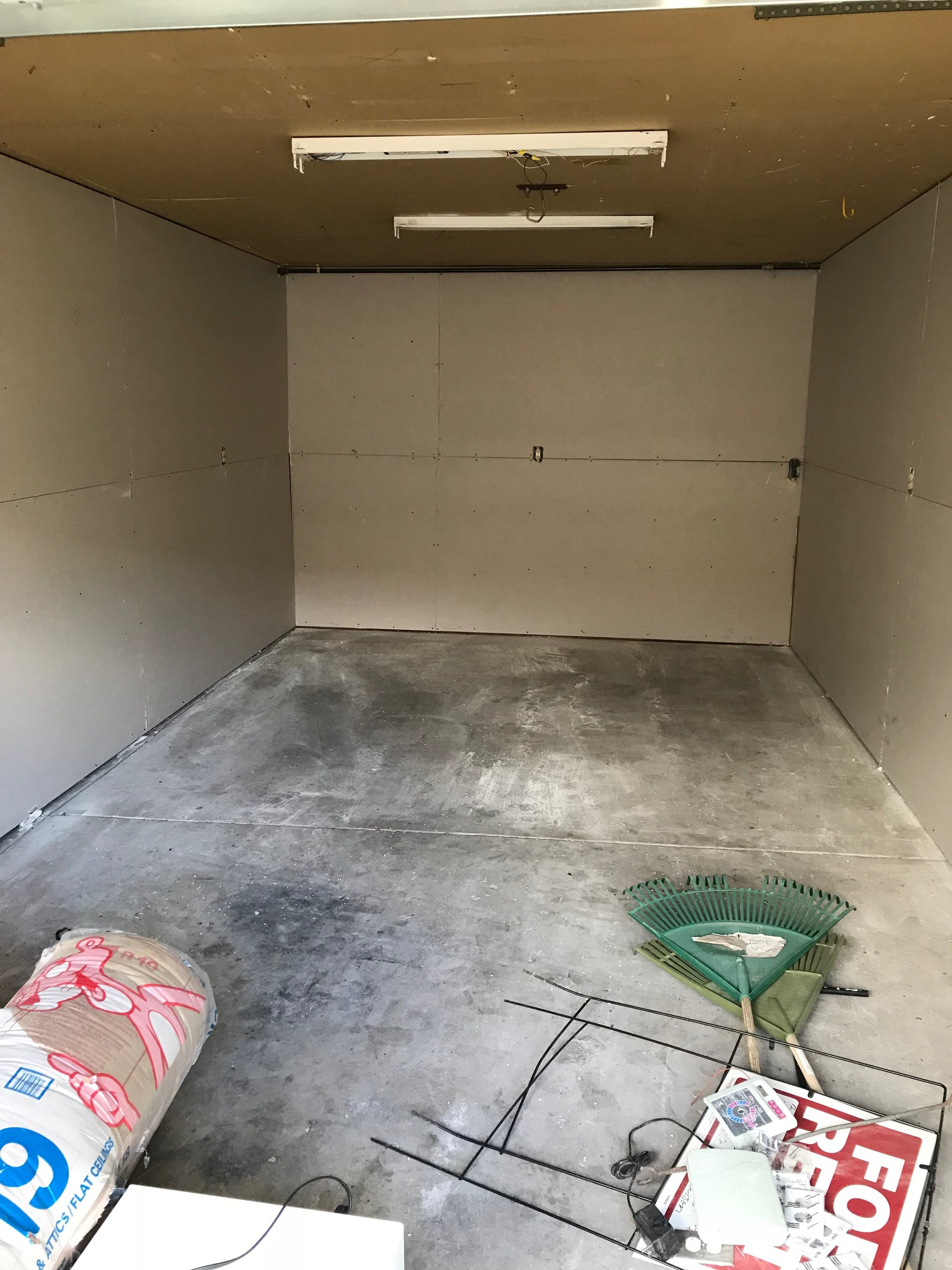 24x12 Garage self storage unit