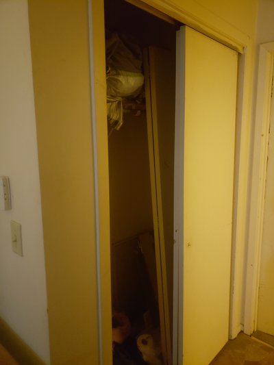 2x5 Closet self storage unit