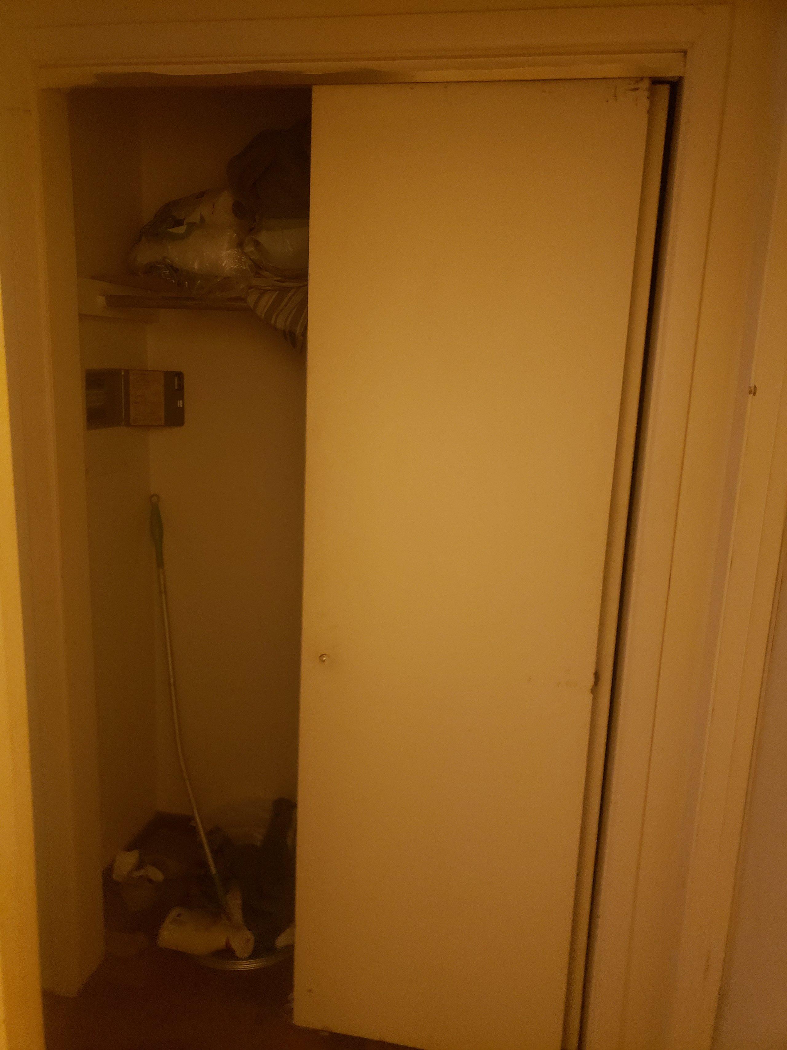 2x5 Closet self storage unit