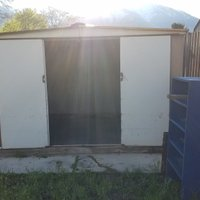 7x8 Shed self storage unit