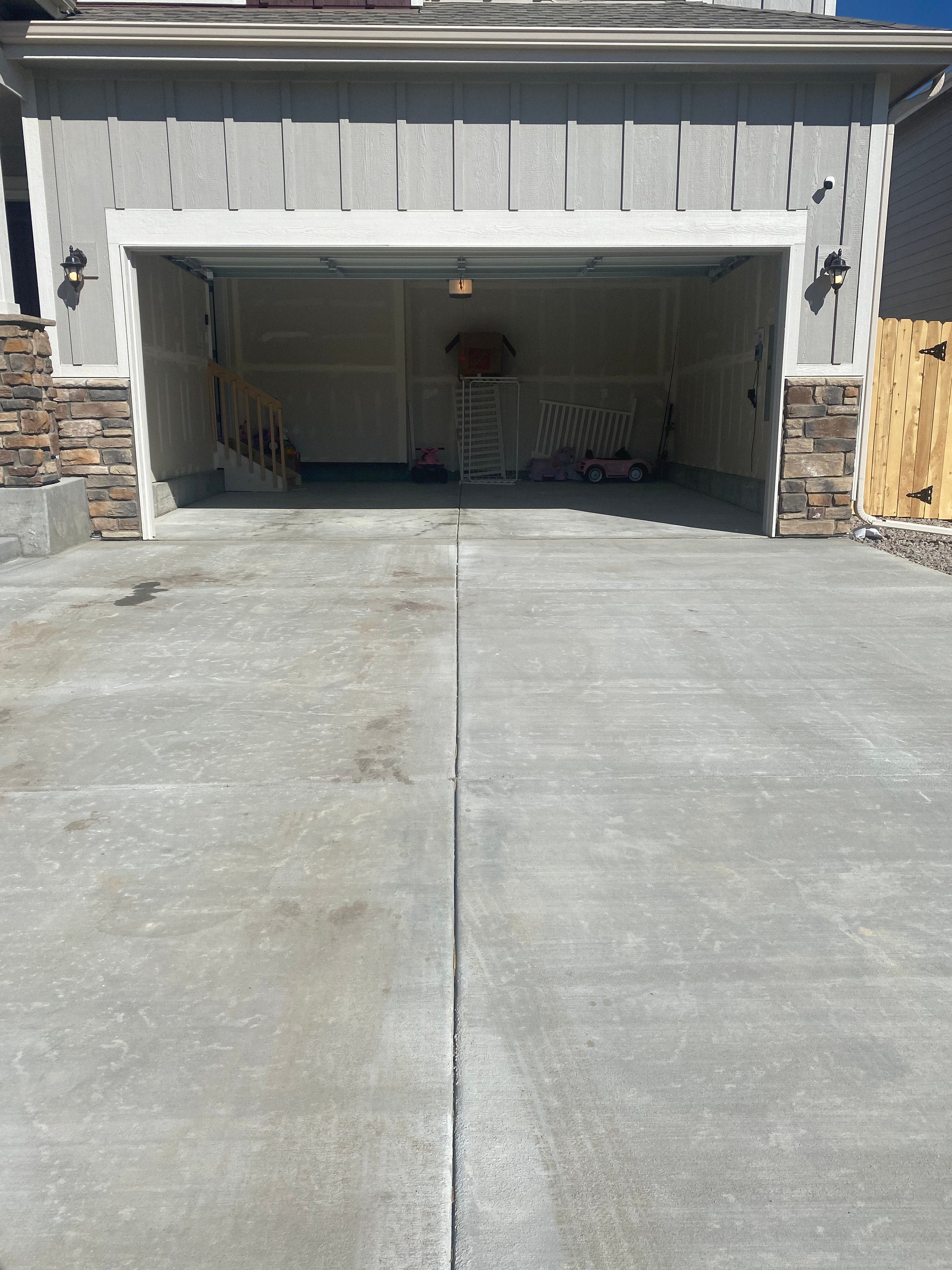 20x20 Garage self storage unit