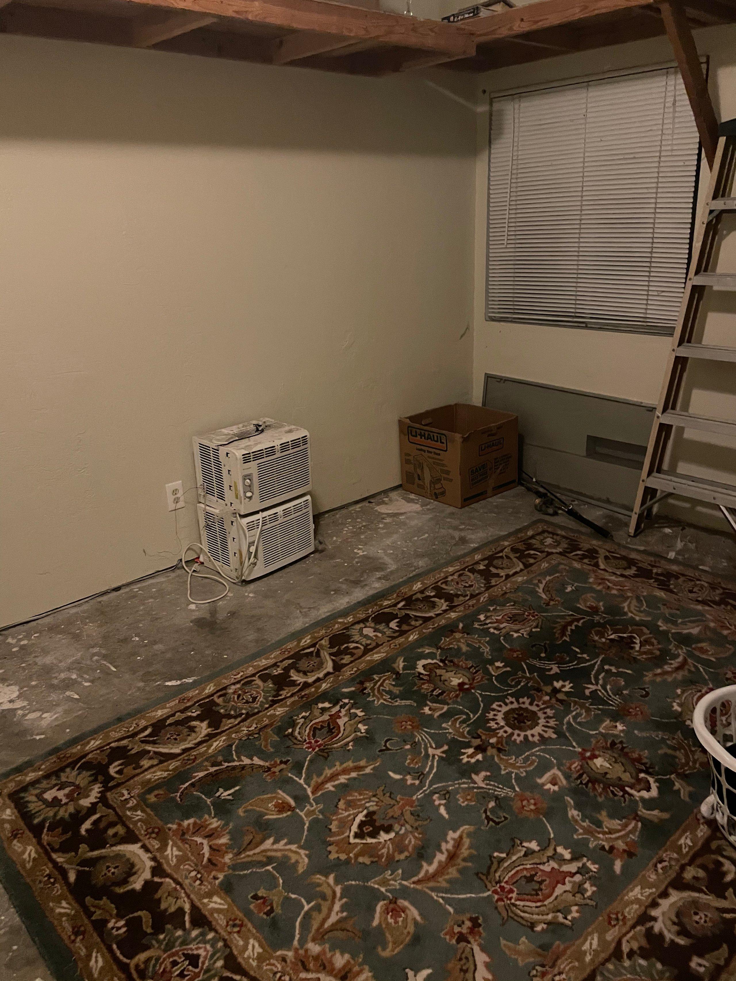 12x12 Garage self storage unit