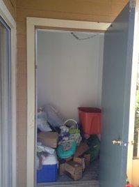 4x4 Closet self storage unit
