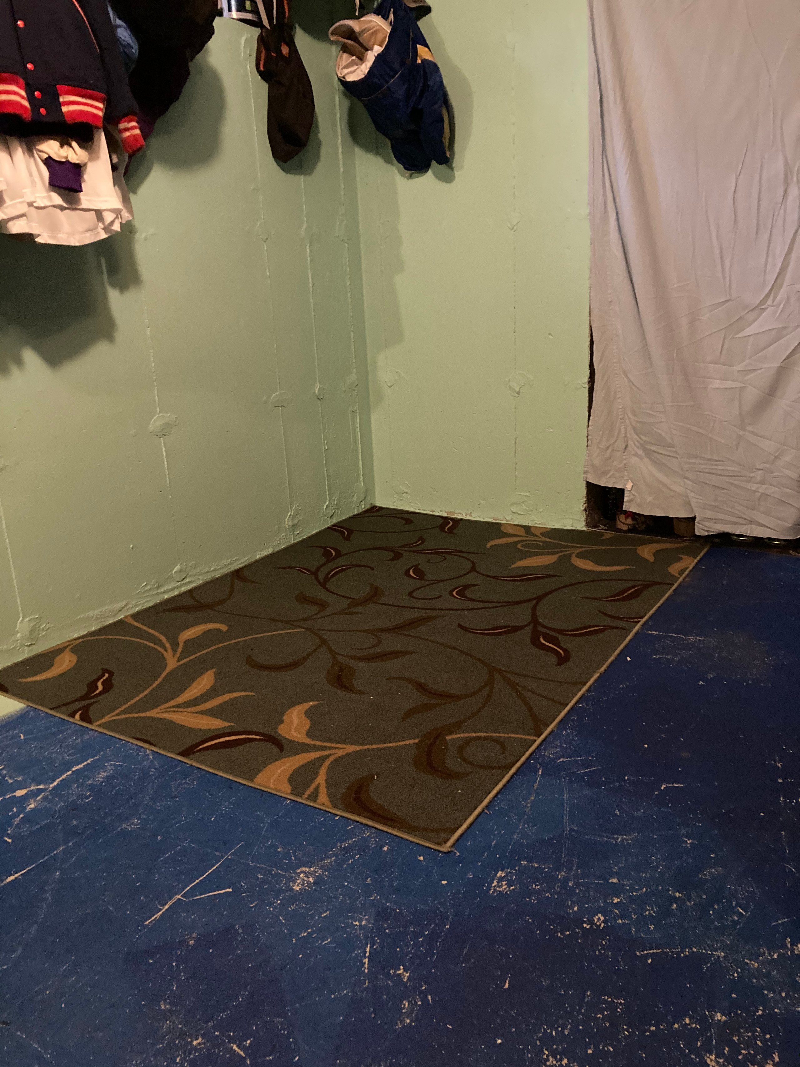 15x6 Basement self storage unit