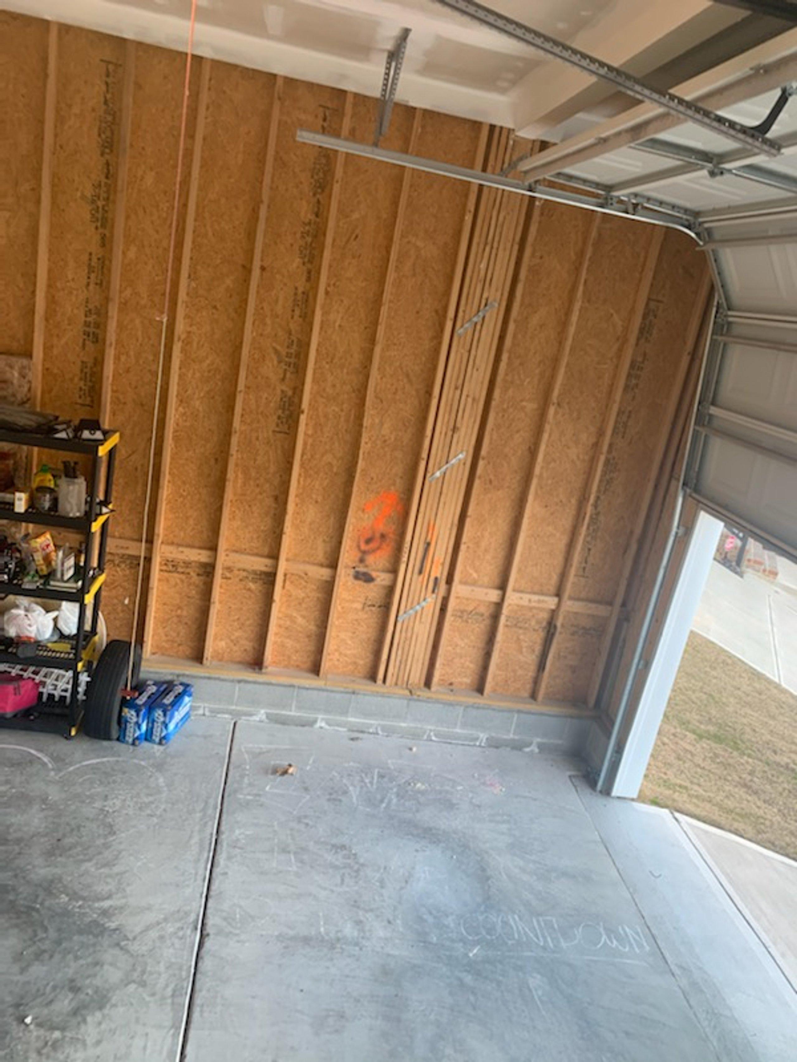 19x20 Garage self storage unit