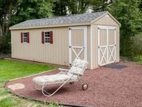 22x10 Shed self storage unit