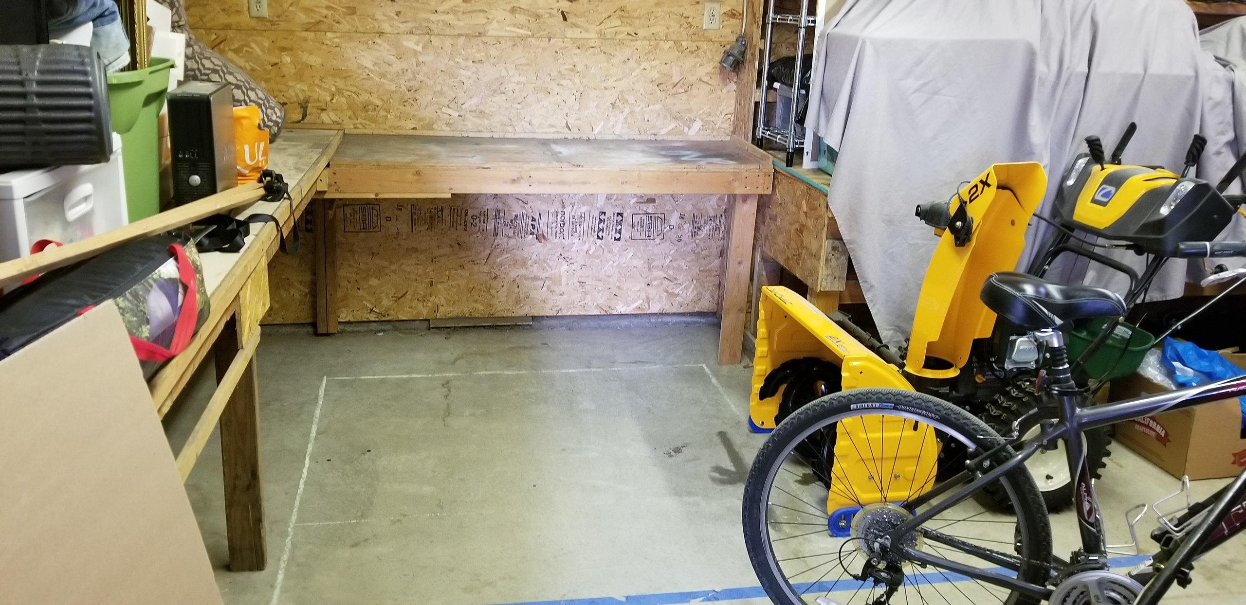 5x5 Garage self storage unit