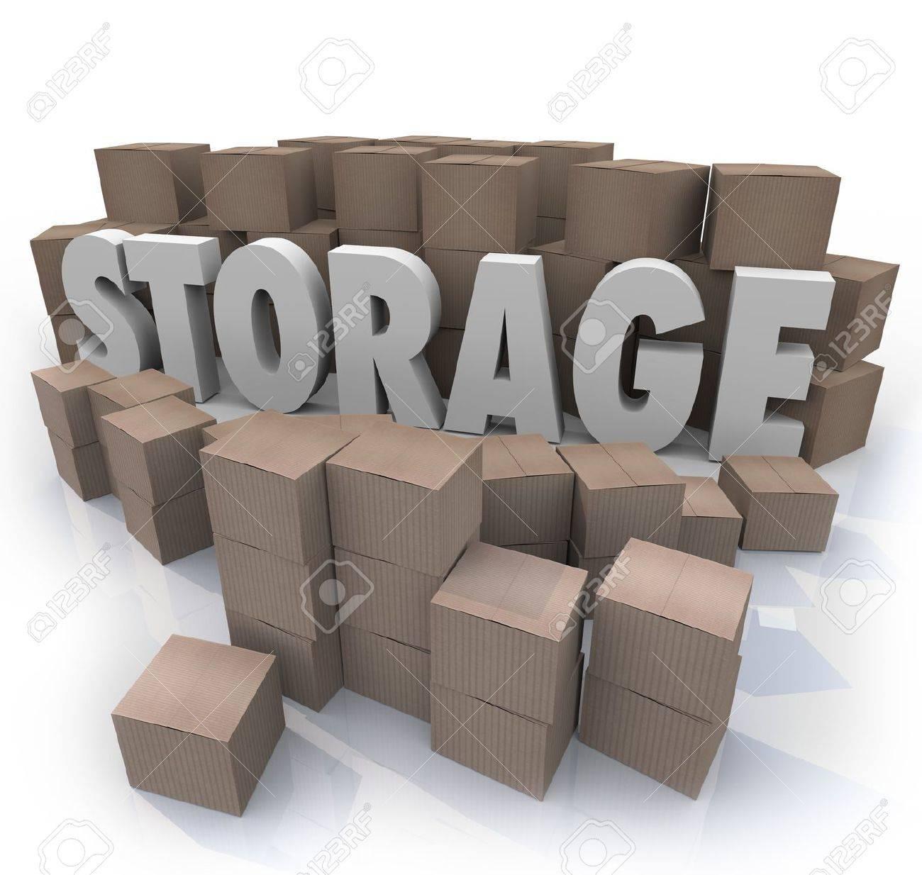 7x10 Basement self storage unit