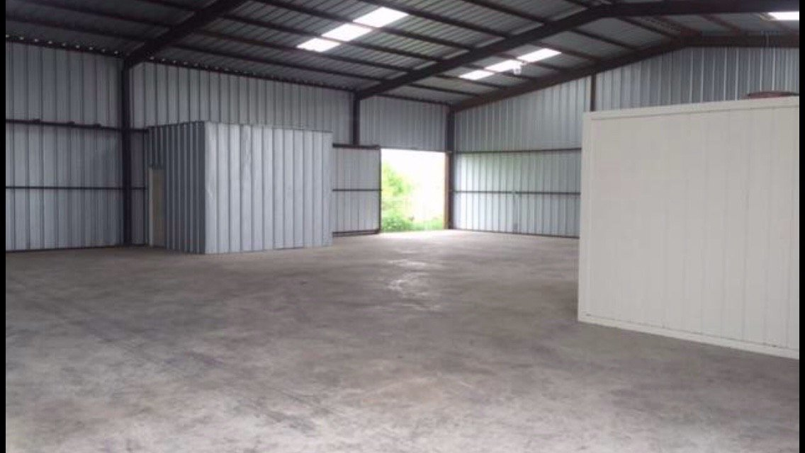 40x50 Warehouse self storage unit